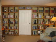 Oak bookcase Cheshire