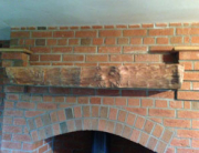Wood mantel piece Cheshire