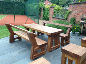 Wooden Garden Furniture Holmes Chapel Bespoke Joiners Cheshire