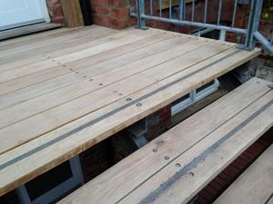 Oak stairs Alderley Edge
