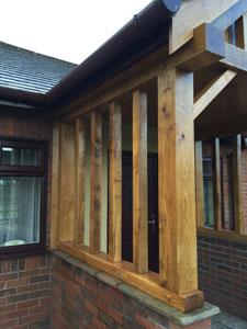 Oak Porch Cheshire
