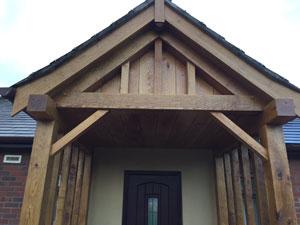 Wood Porch Cheshire