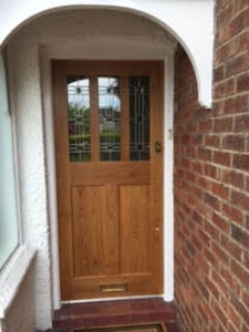 Solid Oak doors Cheshire