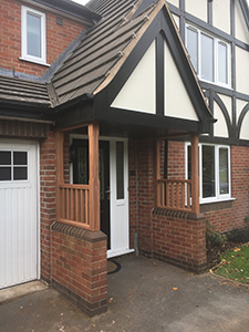Hardwood Porch Supports Cheshire